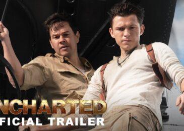 ¡Revelado el primer tráiler de la película de Uncharted!